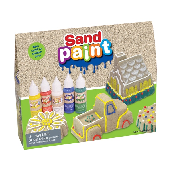 Sand Paint Primary Colors Set