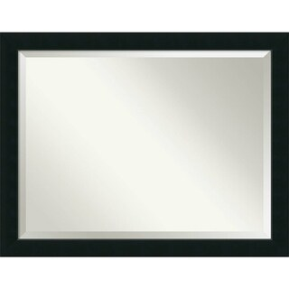 Wall Mirror Oversize Large, Corvino Black 45 x 35-inch - oversize large - 45 x 35-inch