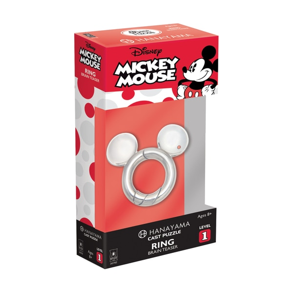 Hanayama Level 1 Cast Puzzle - Disney Mickey Mouse: Ring