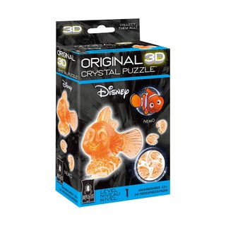 3D Crystal Puzzle - Disney Nemo: 34 Pcs - Multi