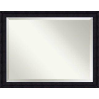 Wall Mirror Oversize Large, Annatto Mahogany 45 x 35-inch