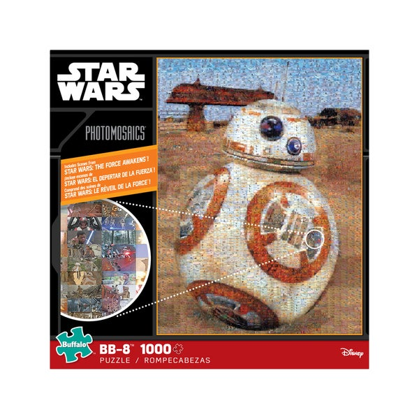 Star Wars Photomosaics - BB-8: 1000 Pcs