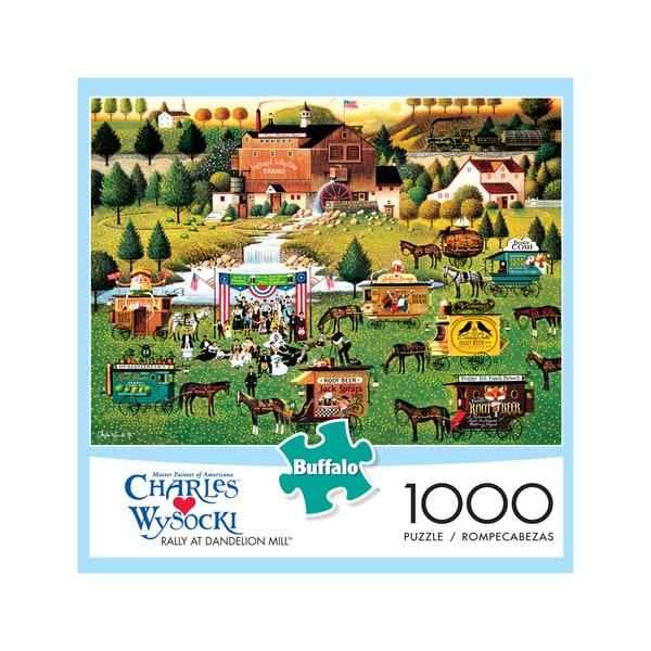 Charles Wysocki - Rally at Dandelion Mill: 1000 Pcs