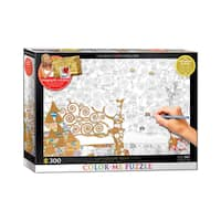 Color-Me Puzzle - Gustav Klimt's Tree Of Life: 300 Pcs