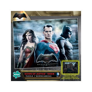 Dawn of Justice Glow-in-the-Dark Jigsaw Puzzle: 1000 Pcs