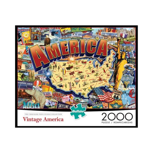 Vintage America: 2000 Pcs