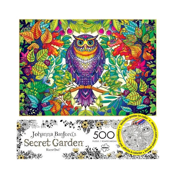 Johanna Basford's Secret Garden - Forest Owl: 500 Pcs