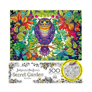 Johanna Basford's Secret Garden - Forest Owl: 500 Pcs