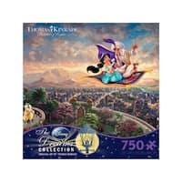 Thomas Kinkade Disney Dreams - Aladdin: 750 Pcs - Blue/White