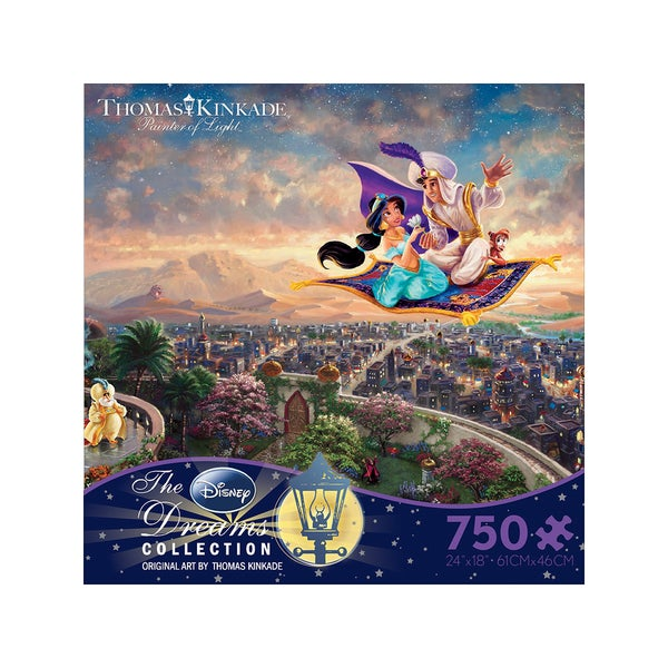 Thomas Kinkade Disney Dreams - Aladdin: 750 Pcs