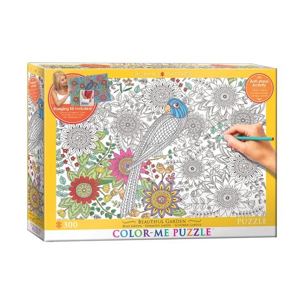 Color-Me Puzzle - Beautiful Garden: 300 Pcs