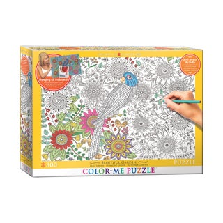Color-Me Puzzle - Beautiful Garden: 300 Pcs