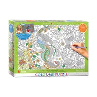 Color-Me Puzzle - Tropical Birds: 500 Pcs