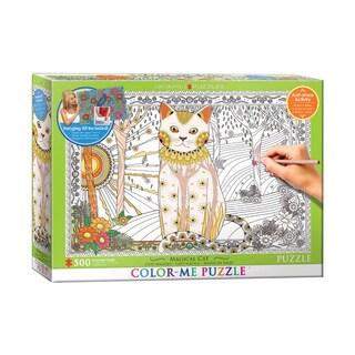 Color-Me Puzzle - Magical Cat: 500 Pcs