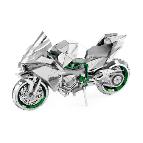 ICONX 3D Metal Model Kit - Kawasaki Ninja H2R