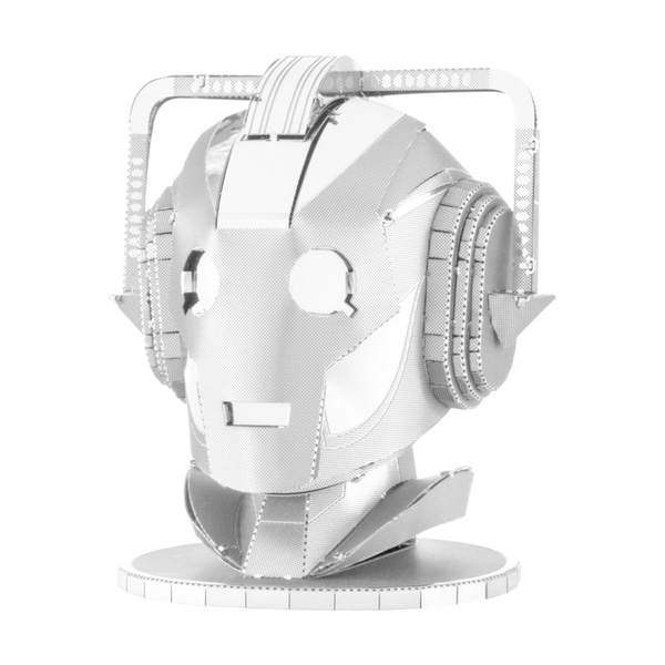 Metal Earth 3D Laser Cut Model - Dr. Who Cyberman Head