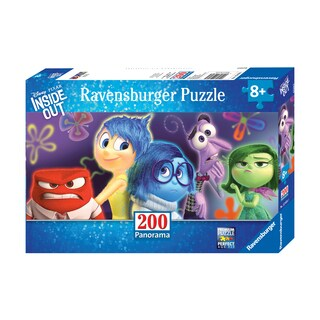 Disney Pixar Inside Out Panoramic Puzzle - Emotions: 200 Pcs