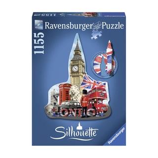 Silhouette Shaped Puzzle - Big Ben, London: 1155 Pcs