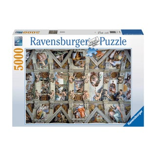 Sistine Chapel: 5000 Pcs - White