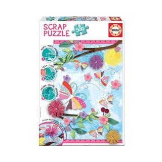 Scrap Puzzle - Garden Art: 500 Pcs