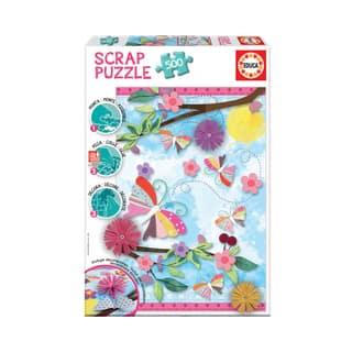 Scrap Puzzle - Garden Art: 500 Pcs|https://ak1.ostkcdn.com/images/products/15615083/P22048755.jpg?impolicy=medium