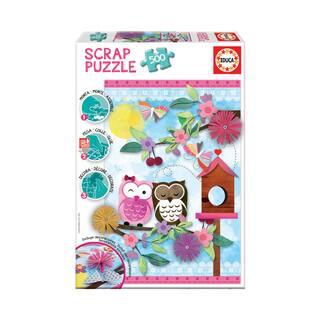 Scrap Puzzle - Valentine Art: 500 Pcs|https://ak1.ostkcdn.com/images/products/15615084/P22048756.jpg?impolicy=medium