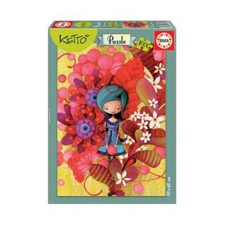Ketto - Blue Lady: 1000 Pcs|https://ak1.ostkcdn.com/images/products/15615086/P22048758.jpg?impolicy=medium