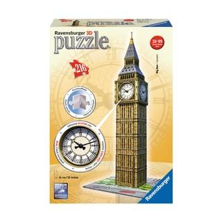 3D Puzzle - Big Ben with Working Clock: 216 Pcs