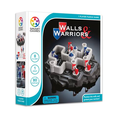 Walls & Warriors - Grey/White