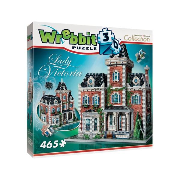 Mansion Collection - Lady Victoria 3D Puzzle: 465 Pcs
