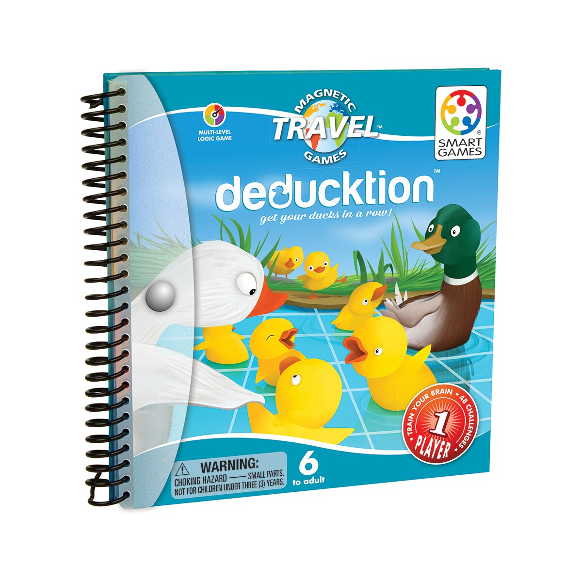 Smart Toys and Games Deducktion, Blue/Yellow