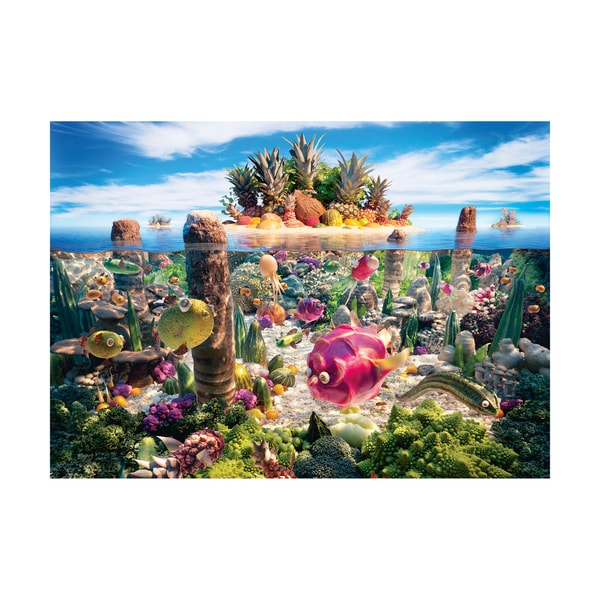 Food Landscapes - Coralscape Jigsaw Puzzle: 1000 Pcs