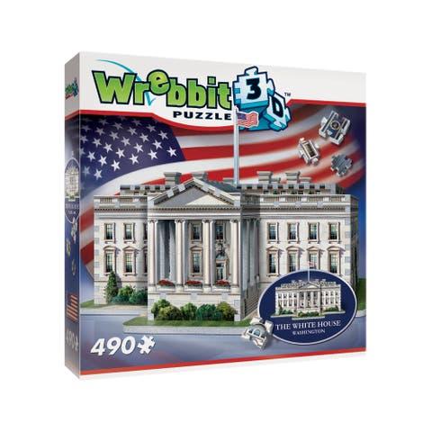 The White House 3D Puzzle: 490 Pcs