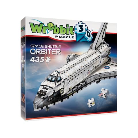 Space Shuttle Orbiter 3D Puzzle: 435 Pcs