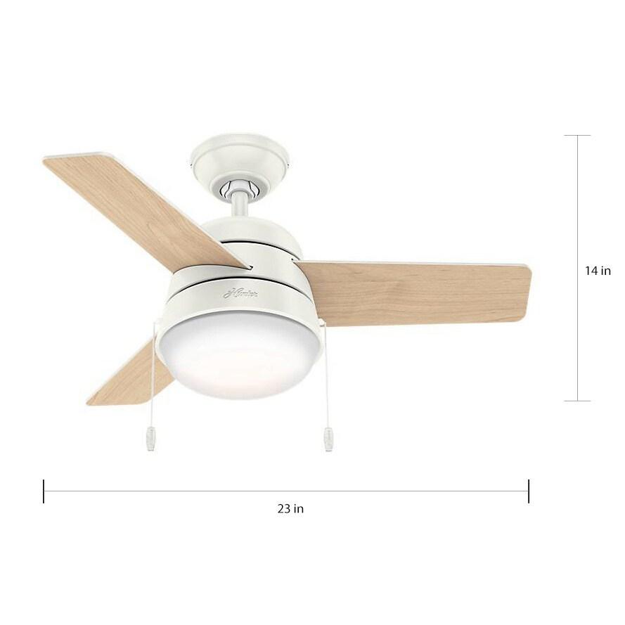 Strange Hunter Fan Aker Fresh White 36 Inch Ceiling Fan With 3 Fresh White Natural Wood Reversible Blades Download Free Architecture Designs Intelgarnamadebymaigaardcom