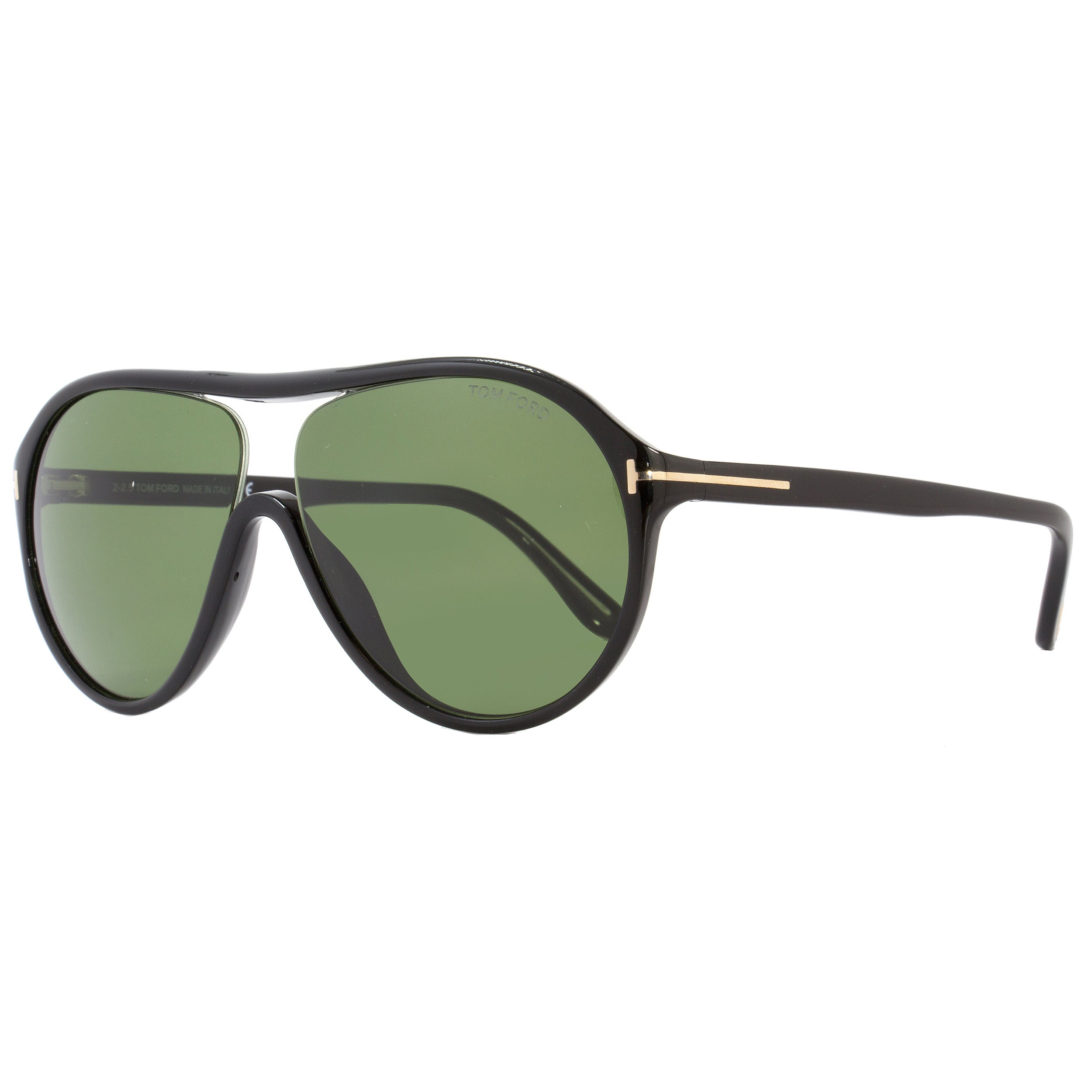 51a6d049f88 Tom Ford TF443 Edison 01N Women s Black Green Lens Sunglasses