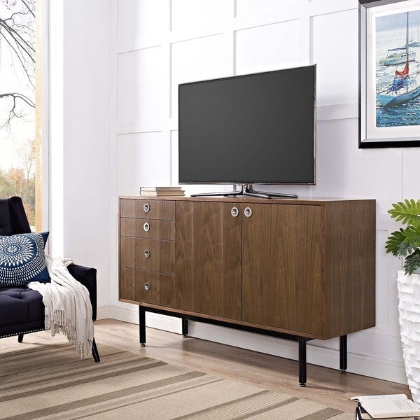 Shop Mid Century Modern Delegation Tv Stand Free