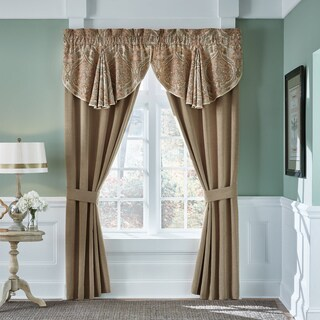 Croscill Birmingham 84-inch Rod Pocket Curtain Panel Pair - N/A