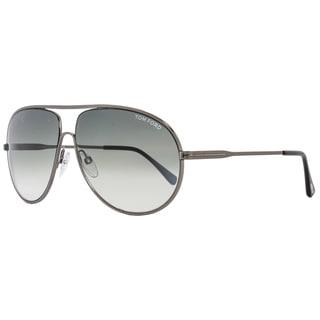 Tom Ford TF450 Cliff 09B Women's Gunmetal/Black/Dark Grey Gradient Lens Sunglasses