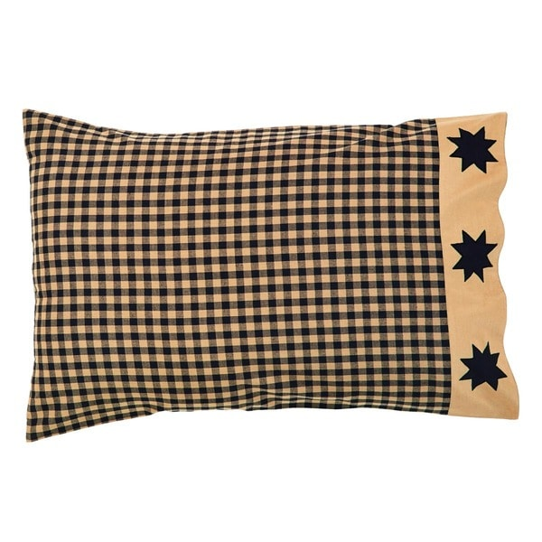Dakota Star 100% Cotton Pillow Case Set