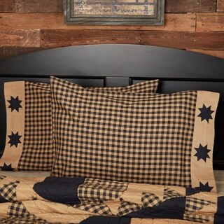 Dakota Star 100% Cotton Pillow Case Set