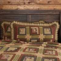 Tea Cabin Lux King Sham