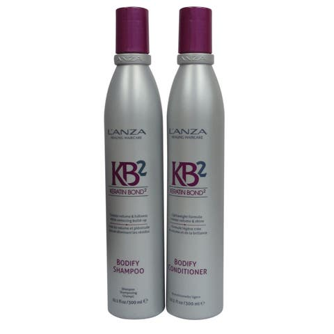 L'anza Healing KB2 Bodifty 10.1-ounce Shampoo and Conditioner