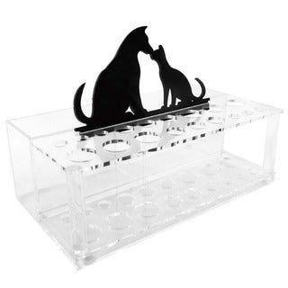 Ikee Design Acrylic Makeup Brush Organizer