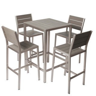 Havenside Home Logan 5-piece Bar Set