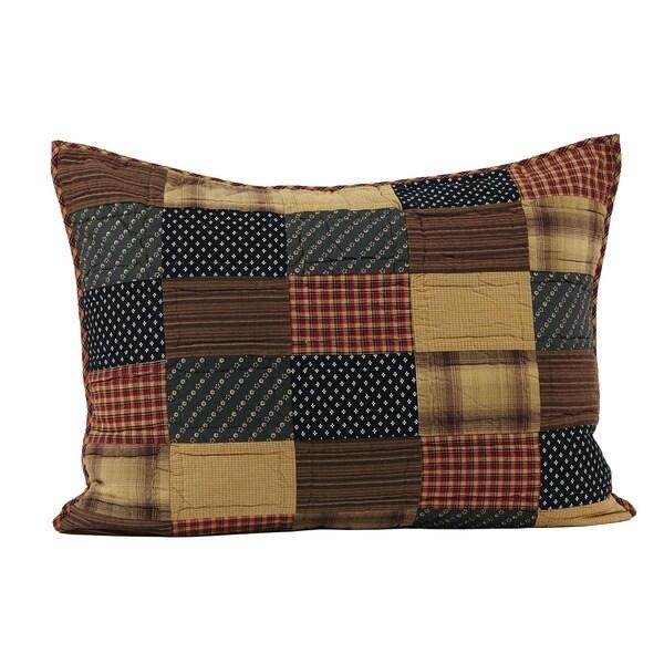 Patriotic Patch Cotton Standard Sham