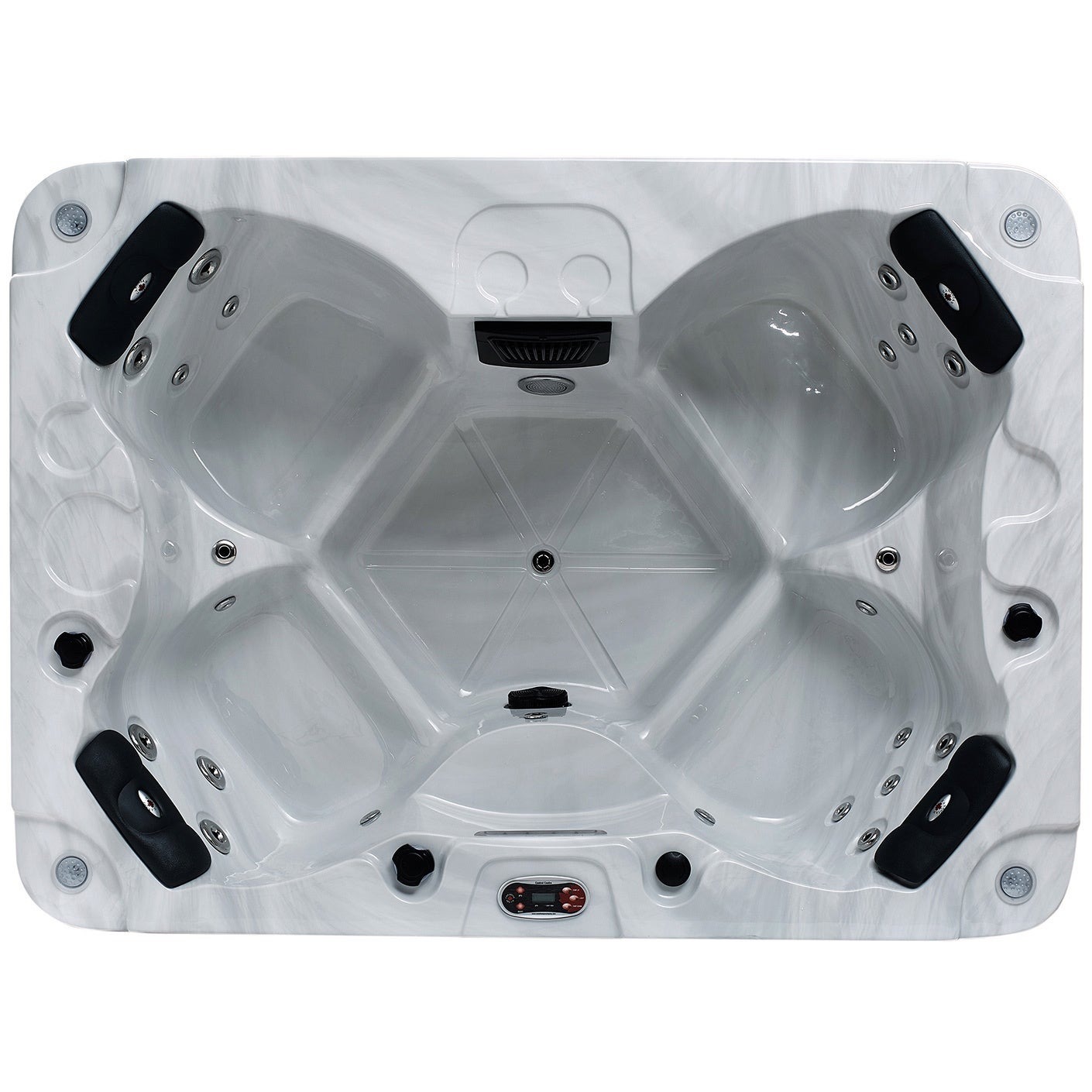 Canadian Spa Halifax Se 4 Person 22 Jet Plug Play Spa Overstock 15616311