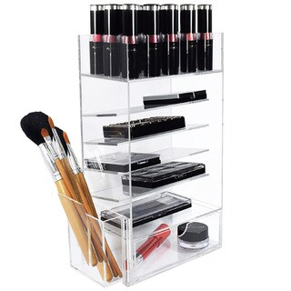 Ikee Design Acrylic Makeup & Lipstick Storage Box and Organizer