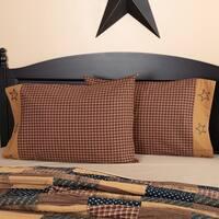 Patriotic Patch Pillow Case Set