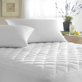 Ultra Soft Quilted Waterproof Hypoallergenic BedBug Mattress Cover - White